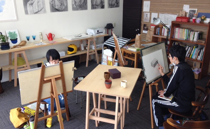 素描を楽しむ春の教室