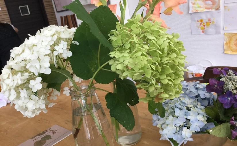 夏至と紫陽花